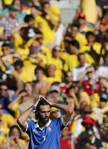 juego colombia grecia mundial futbol 20146
