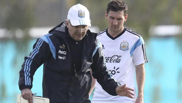 lionel messi en la selección argentina
