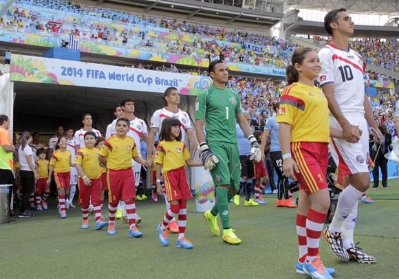 los mejores momentos del encuentro Uruguay-Costa Rica10