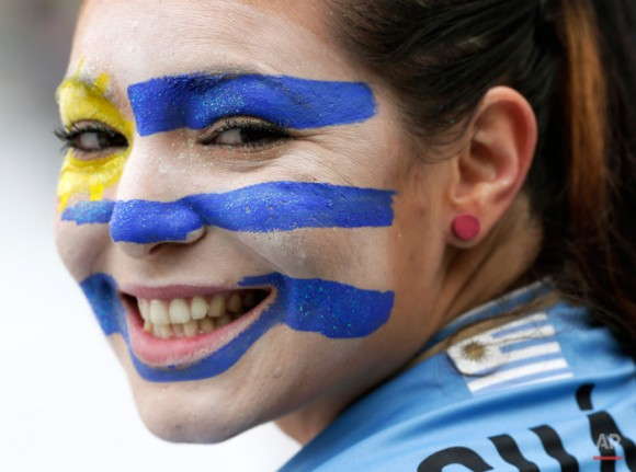 Brazil Soccer WCup Uruguay England