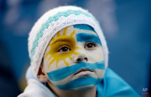 APTOPIX Uruguay Brazil WCup Soccer