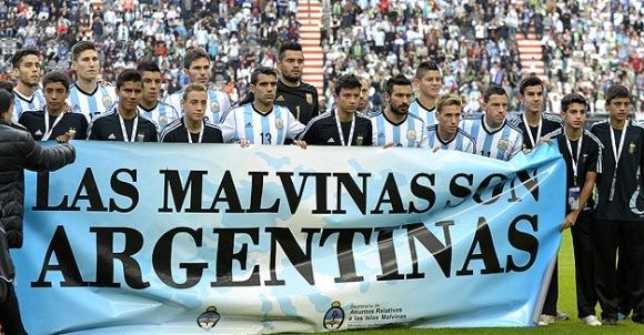 La selección de Argentina reaviva el tema de las Malvinas antes del Mundial