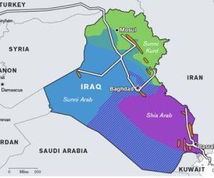 mapa iraq 2