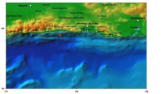mapa sismo santiago