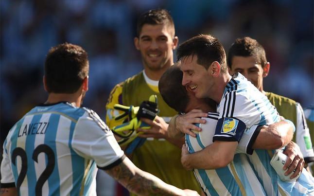 Messi reconoce que el equipo todavía tiene que dar más si quiere ser campeón. Foto: AFP.