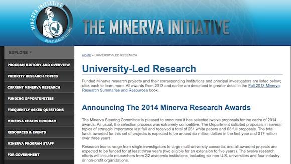 minerva iniciative
