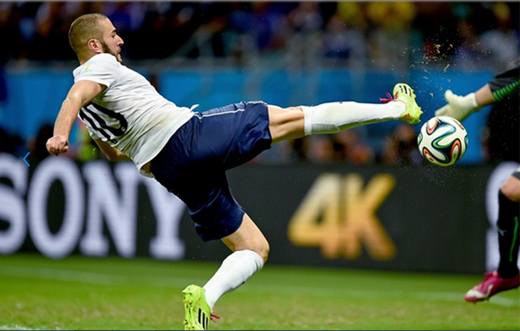 En ausencia de Ribery, Benzema ha tenido que asumir los galones. Foto: Dennis Grombkowski/Getty Images.