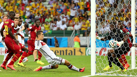 Klose empató  15 goles con Ronaldo. Foto: Getty Images.