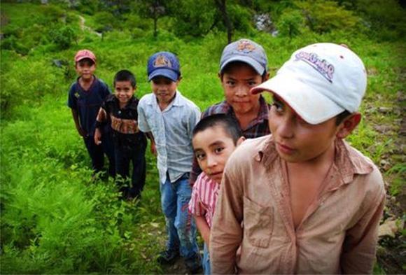 Niños migrantes mexicanos.
