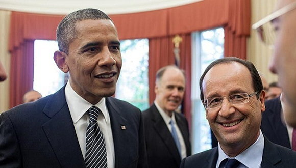 obama-hollande-normandia