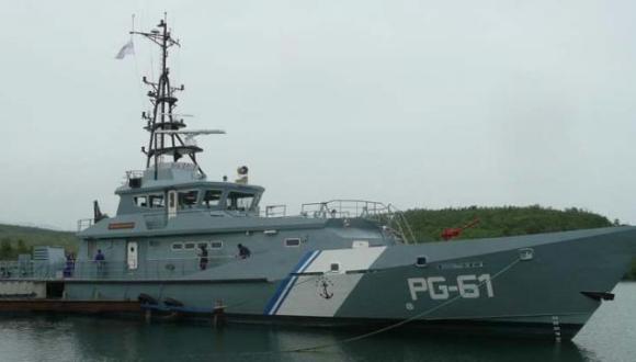 Moderno patrullero guardacostas construido en Cuba para la Armada venezolana. FOTO: Eduardo Palomares Calderó