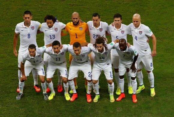El equipo de EEUU. Foto: Reuters