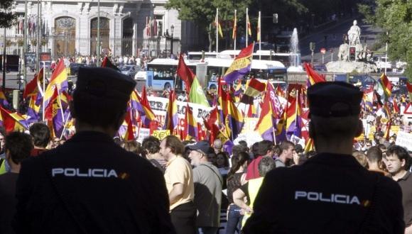 protesta españa