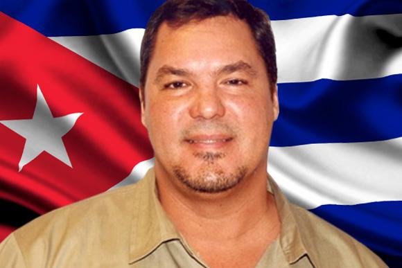 Ramón Labañino. Héroe de la República de Cuba.