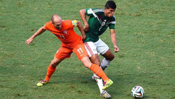 Robben es media Holanda.