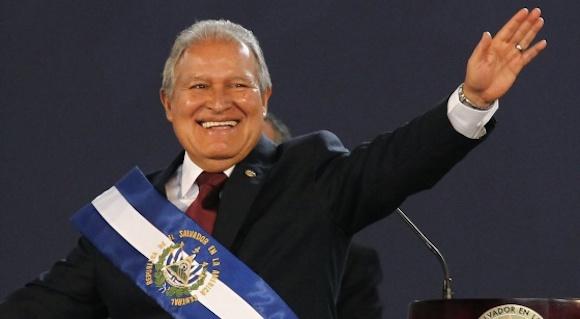 Salvador Sánchez Cerén, presidente de El Salvador. Foto: Reuters