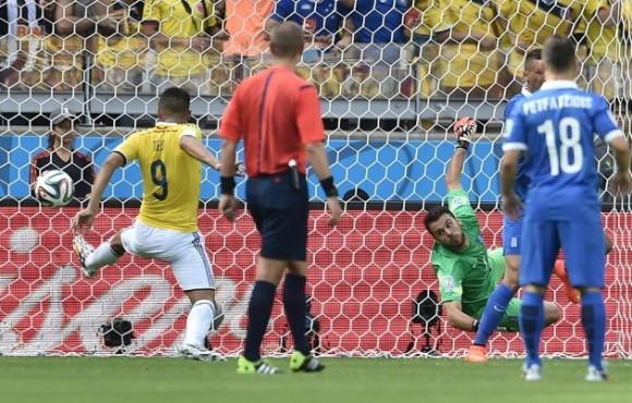 segundo gol de colombia