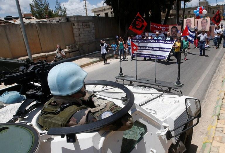 solidaridad los cinco libano