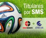 Titulares por SMS, mundial de Fútbol