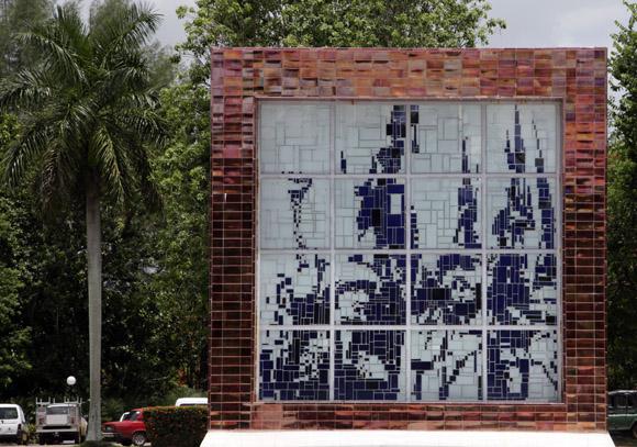 El Mausoleo Artemisa en 26. Foto: Ismael Francisco/Cubadebate.