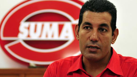 Aramís Sánchez Gutiérrez, subdirector del Centro de Inmunoensayo (CIE), de La Habana. Foto: Ladyrene Pérez/ Cubadebate