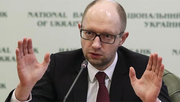 Yatseniuk anunció su renuncia debido a la caída de la coalición gobernante. Foto tomada de: cuatro.com
