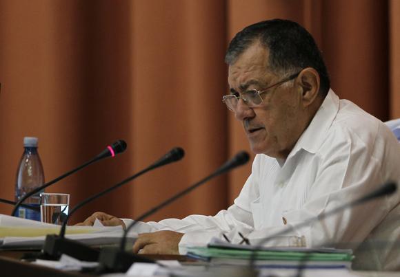 Adel Yzquierdo, Ministro de Economía y Planificación. Foto: Ladyrene Pérez/Cubadebate.