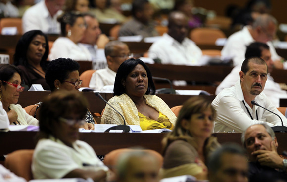Diputados de la Asamblea Nacional del Poder Popular. Foto: Ladyrene Pérez/Cubadebate.