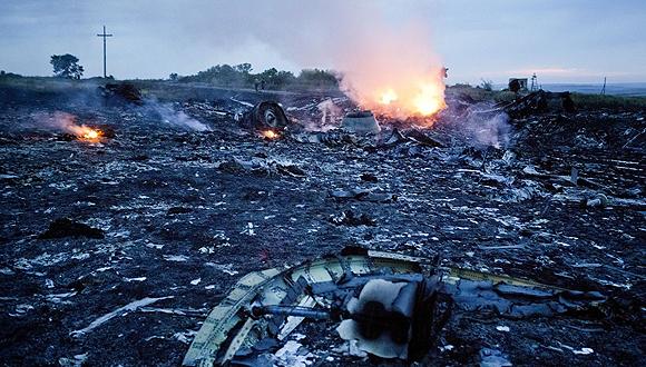 Rebeldes prorrusos permitirán el rescate de las víctimas del avión en una zona de 20 km. Foto: Getty Images