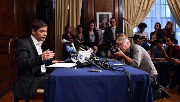 Axel Kicillof, Ministro de Economía de Argentina. Foto: AP.