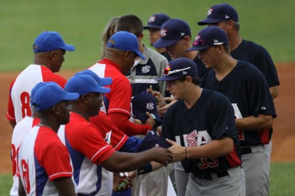Vuelve en julio tope beisbolero Cuba-Estados Unidos