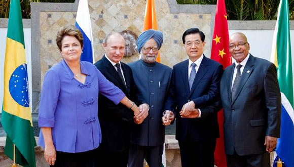 Los BRICS reúnen en su conjunto el 43% de la población mundial, el 30% de la superficie terrestre mundial, el 18% del Producto Interno Bruto (PBI) global y el 35% de las reservas de divisas. Foto: Tomada de Portal del Sur.