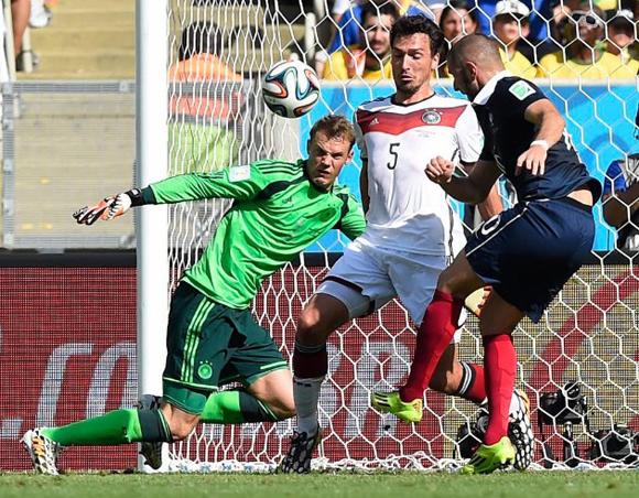 Benzema no encuentra el arco rival hoy.