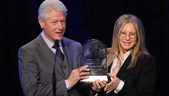 Bill+Clinton+barbara streisand