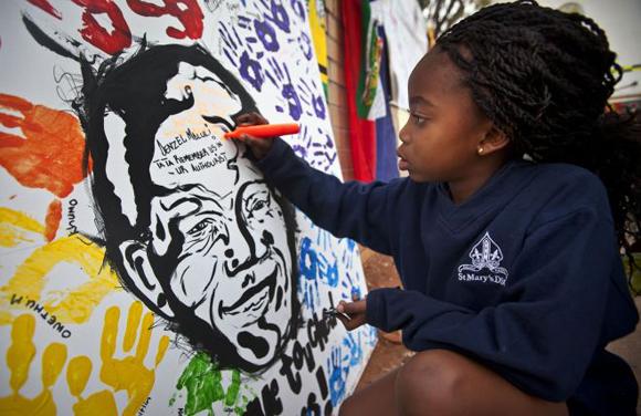 Celebran dia de Mandela1