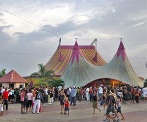Carpa del Circo Nacional de CUba. Foto tomada de Juventud Rebelde