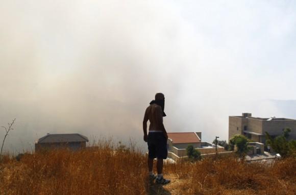 Duros enfrentamientos en Jerusalén tras la muerte de un joven palestino. Foto: Reuters