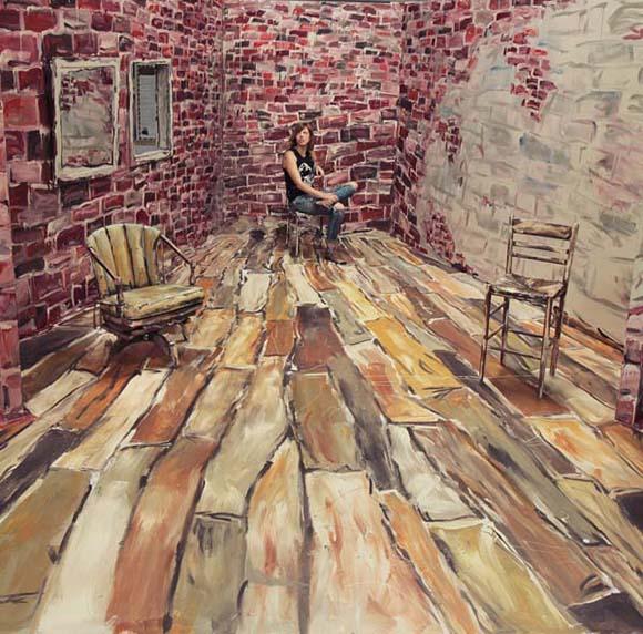 El arte de Alexa Meades se basa en cambiar tu perspectiva.