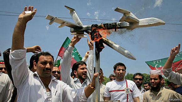 El gobierno de Pakistán ha rechazado el uso de drones de Estados Unidos por considerar.