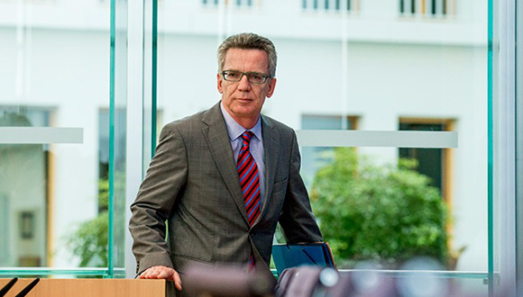 Thomas de Maizière, ministro alemán de Interior. Foto: Tomada de Russia Today.