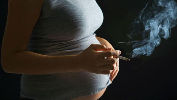 Embarazadas fumadoras A