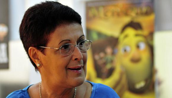 Esther Hirzel directora de los estudios cubanos de animación