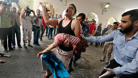 Asciende a 813 los muertos por ofensiva militar israelí en Gaza