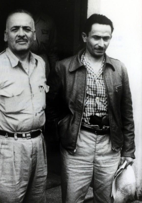 Getty Images: 28 de junio 1954. El coronel Carlos Castillo Armas (derecha).