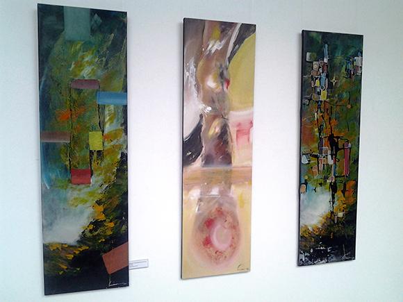 Homenaje a 3 amigos abstractos