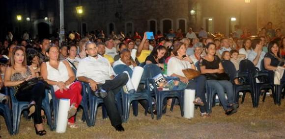 Acto conmemorativo del Aniversario 60 del natalicio del Comandante Hugo Chávez Frías, realizado en el Complejo Morro Cabañas, en La Habana, Cuba, el 28 de julio de 2014. AIN FOTO/Oriol de la Cruz ATENCIO