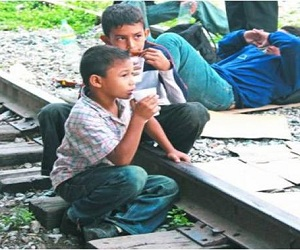 Honduras niños inmigrantes