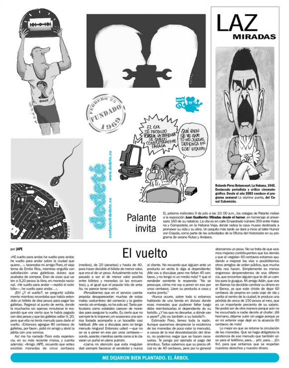 Periódico Juventud Rebelde, domingo 6 de julio de 2014
