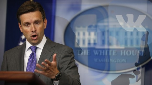 Josh Earnest. Foto: Reuters.