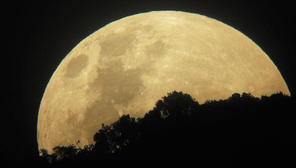 El mundo se prepara para la superluna más grande en 20 años